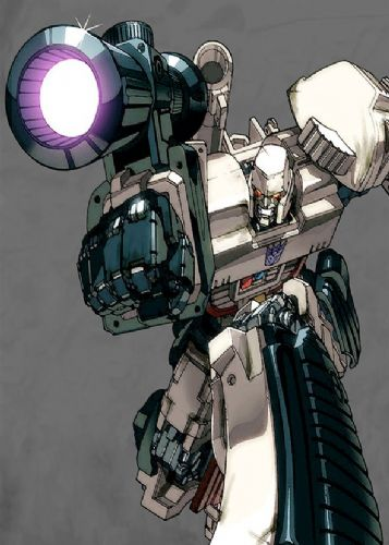 TRANSFORMERS - MEGATRON SKETCH ART canvas print - self adhesive poster - photo print